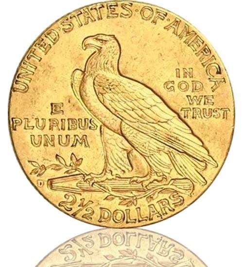 2,5 US-Dollar Indian Head