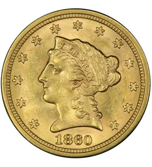 2,5 US-Dollar Liberty Head