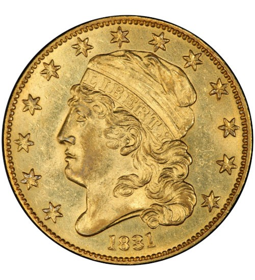 5 US-Dollar Capped Bust