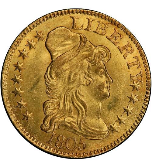 5 US-Dollar Draped Bust