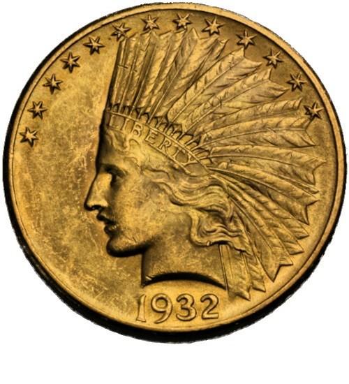 10 US-Dollar Indian Head