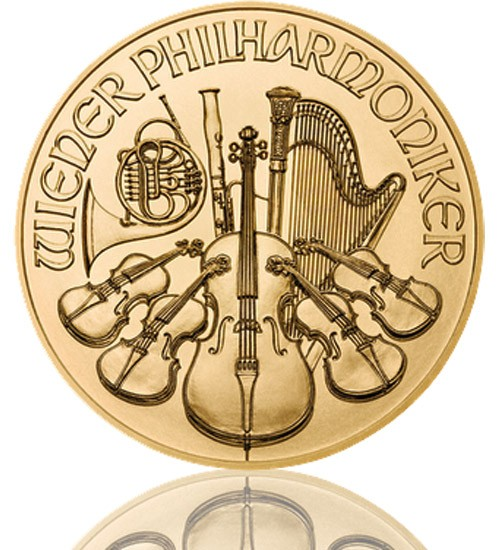Wiener Philharmoniker Gold 1/2 oz 2018