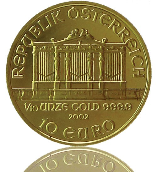 Wiener Philharmoniker Gold 1/10 oz div. Jg.
