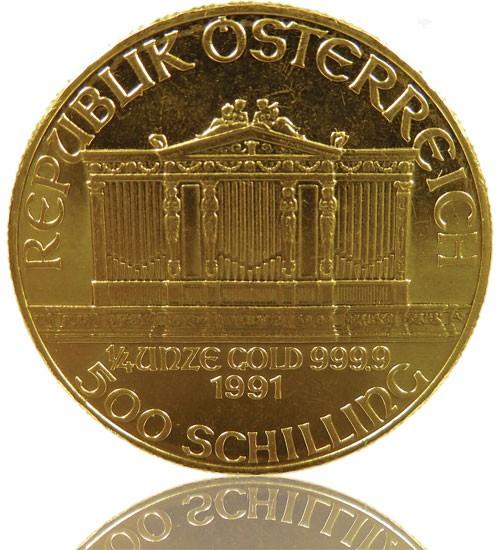 Wiener Philharmoniker Gold 1/4 oz div. Jg.