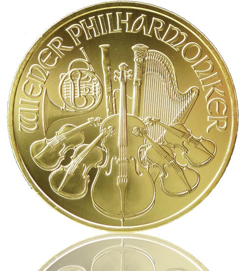 Wiener Philharmoniker Gold 1 oz 2018