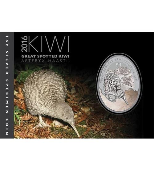 Kiwi 1 oz 2016 Blister