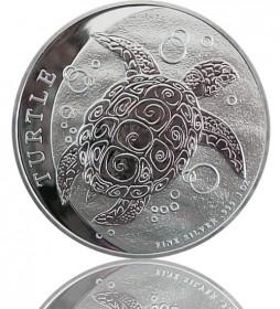 Niue Hawksbill Turtle Schildkröte 1 oz 2014