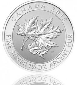 Maple Leaf 1,5 oz 2015 Superleaf