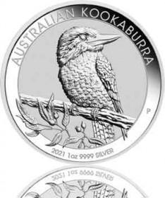 Kookaburra 1 oz 2021