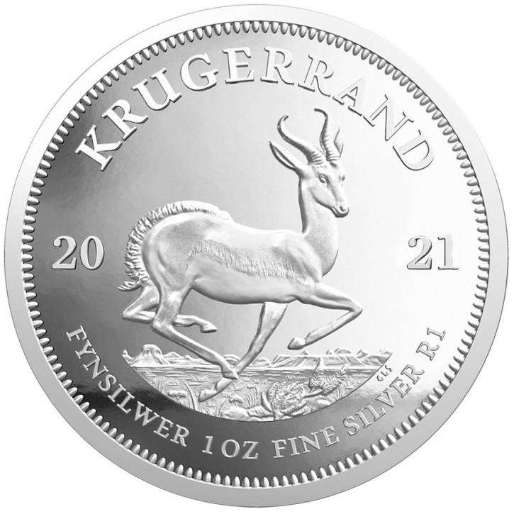 Krügerrand 1 oz Silber 2021 PP
