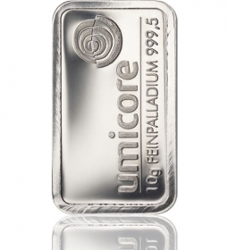 Palladium-Barren 10 g