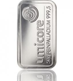 Palladium-Barren 50 g