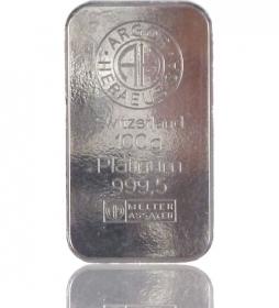 Platin-Barren 100 g LBMA-zertifiziert