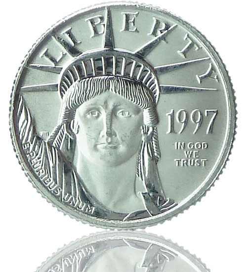 American Eagle Platin 1 oz div. Jg.