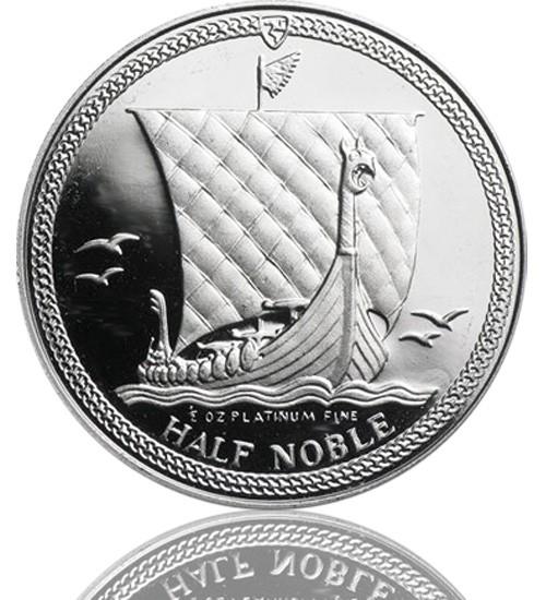 Isle Of Man - Noble 1/2 oz div. Jg.