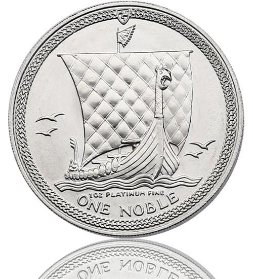 Isle Of Man - Noble 1 oz div. Jg.
