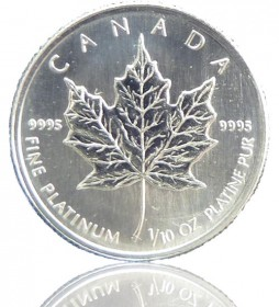 Maple Leaf 1/10 oz div. Jg.