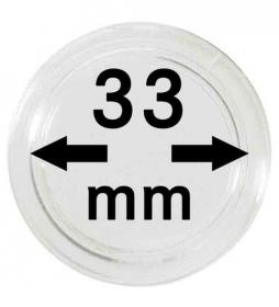 Münzenkapseln ø 33 mm / 1.3 inch