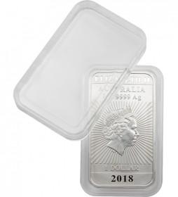 Rechteckige Münzbarrenkapsel 27 x 47 mm für 1 oz Drache Perth Mint