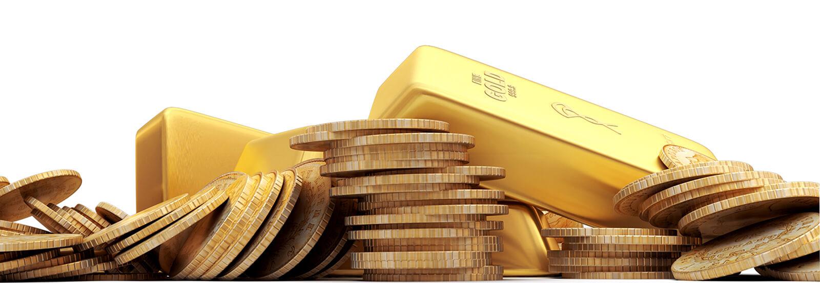 Gold Münzen & Barren