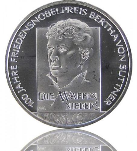 100 Jahre Friedensnobelpreis Bertha Von Suttner 2005