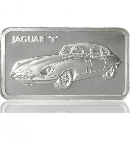 1 Oz Silber Motiv Barren Jaguar E Type