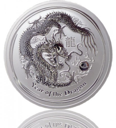 Lunar Serie Ii Drache 2012 Silberm Nze 1000 G