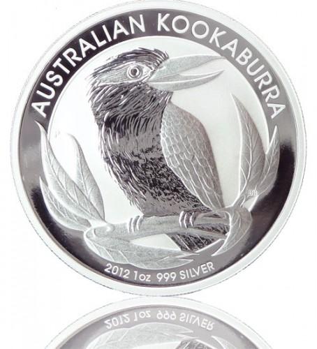 Kookaburra 2012 Silberm Nze 1 Oz