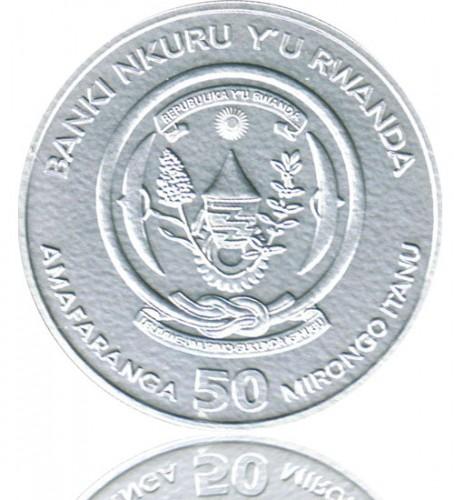 Ruanda African Ounce Nashorn 2012