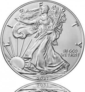 American Silver Eagle 1 oz 2021 Typ 2