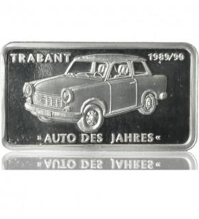 1 oz Silber Motiv-Barren Trabant (Trabbi)