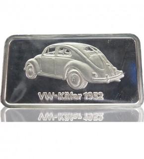 1 oz Silber Motiv-Barren VW-Käfer