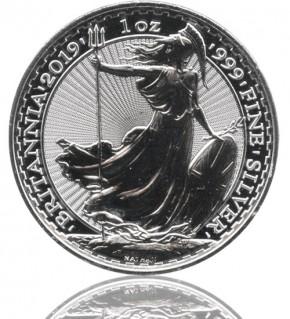 Britannia 1 oz Silbermünze 2019 Silber