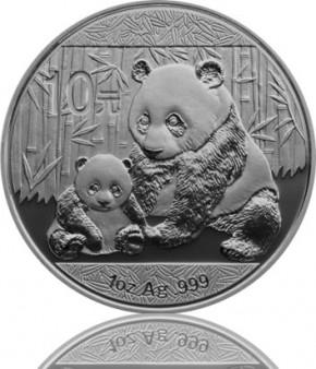 China Panda 1 oz 2012