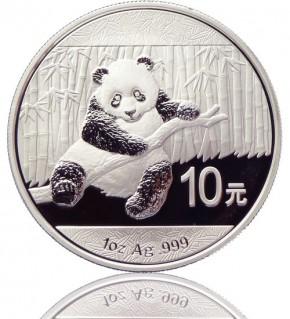 China Panda 1 oz 2014