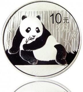 China Silberpanda 1 oz diverse Jahrgänge