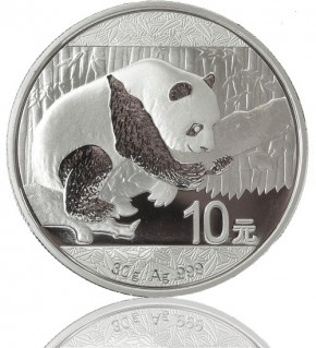 China Silberpanda 30 g 2016