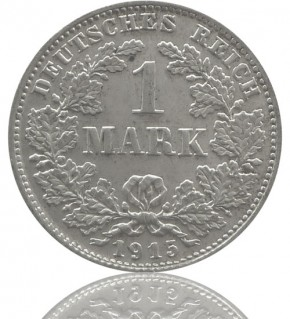 1 Mark 1891-1916 J. 17