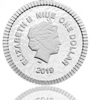 Eule von Athen 1/4 oz Silber 2019