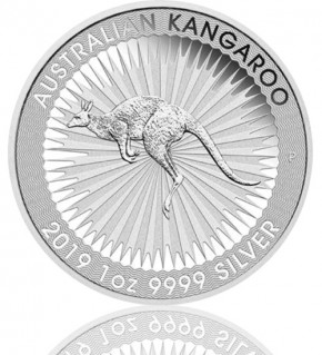 Silber Känguru 1 oz 2019 Perth Mint