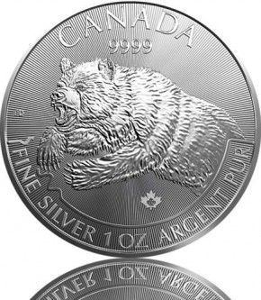 1 oz Predator Serie Grizzly 2019