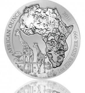 Ruanda African Ounce Giraffe 2018