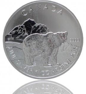 Wildlife Kanada Grizzly 1 oz 2011