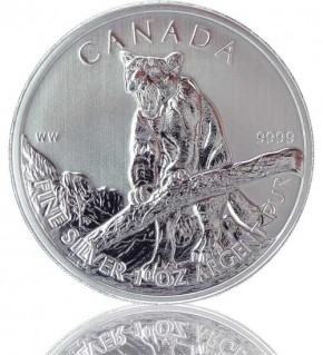 Wildlife Kanada Puma 1 oz 2012