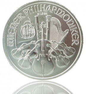 Wiener Philharmoniker Silber 1 oz 2020
