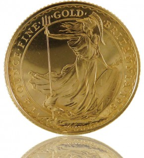 Britannia Goldmünze 1/4 oz 2017
