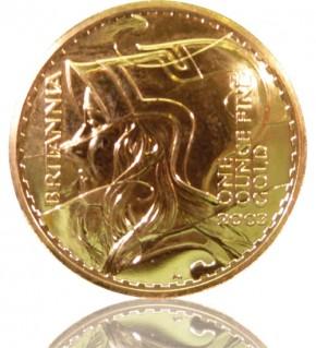 Gold Britannia 1 oz 2003