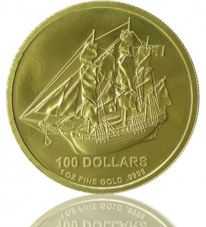 Cook Islands Gold 1 oz div. Jg.