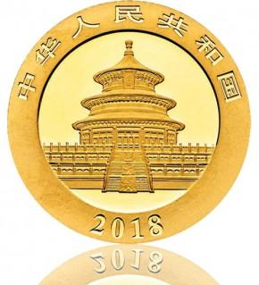 China Gold Panda 8 g 2018