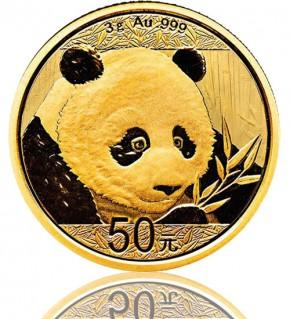 China Gold Panda 3 g 2018